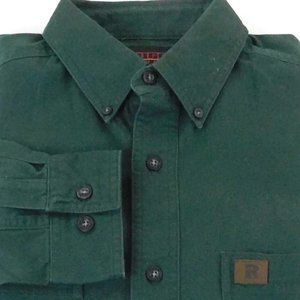 Riggs Wrangler Workwear Long Sleeve Medium Green M